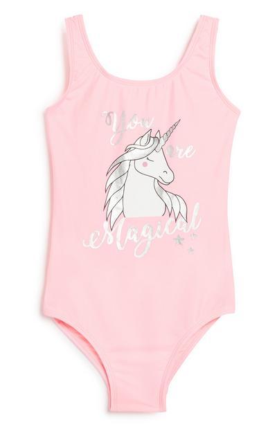 Older Girl Unicorn Swimsuit
