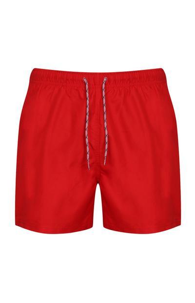 Red Swim Shorts