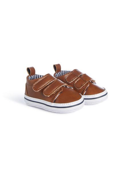 Baby Boy Tan Shoes