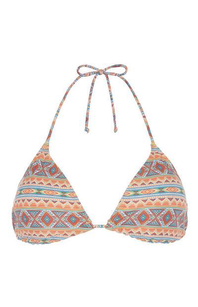 Aztec Bikini Top