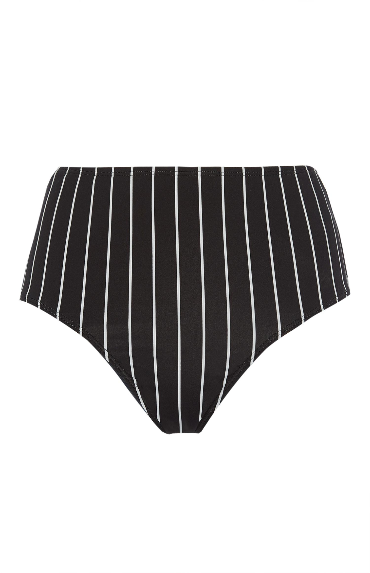 e3fe6f27ad3d3 Striped High Waist Bikini Bottoms | Swimwear & Beachwear ...