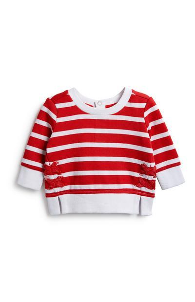 Baby Girl Stripe Jumper