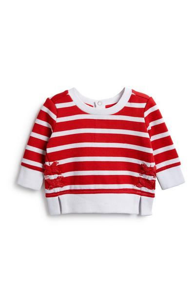 Baby Girl Stripe Jumper