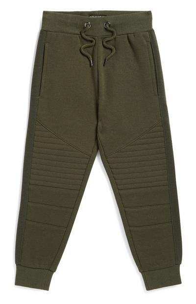 Younger Boy Camo Jogger