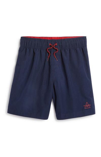 Older Boy Navy Swim Short