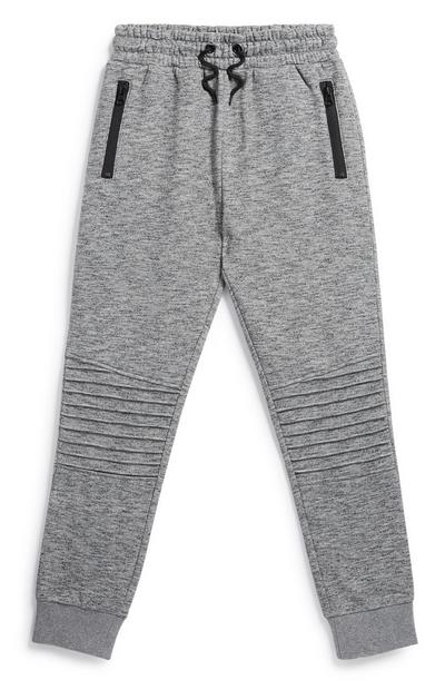 Younger Boy Grey Jogger