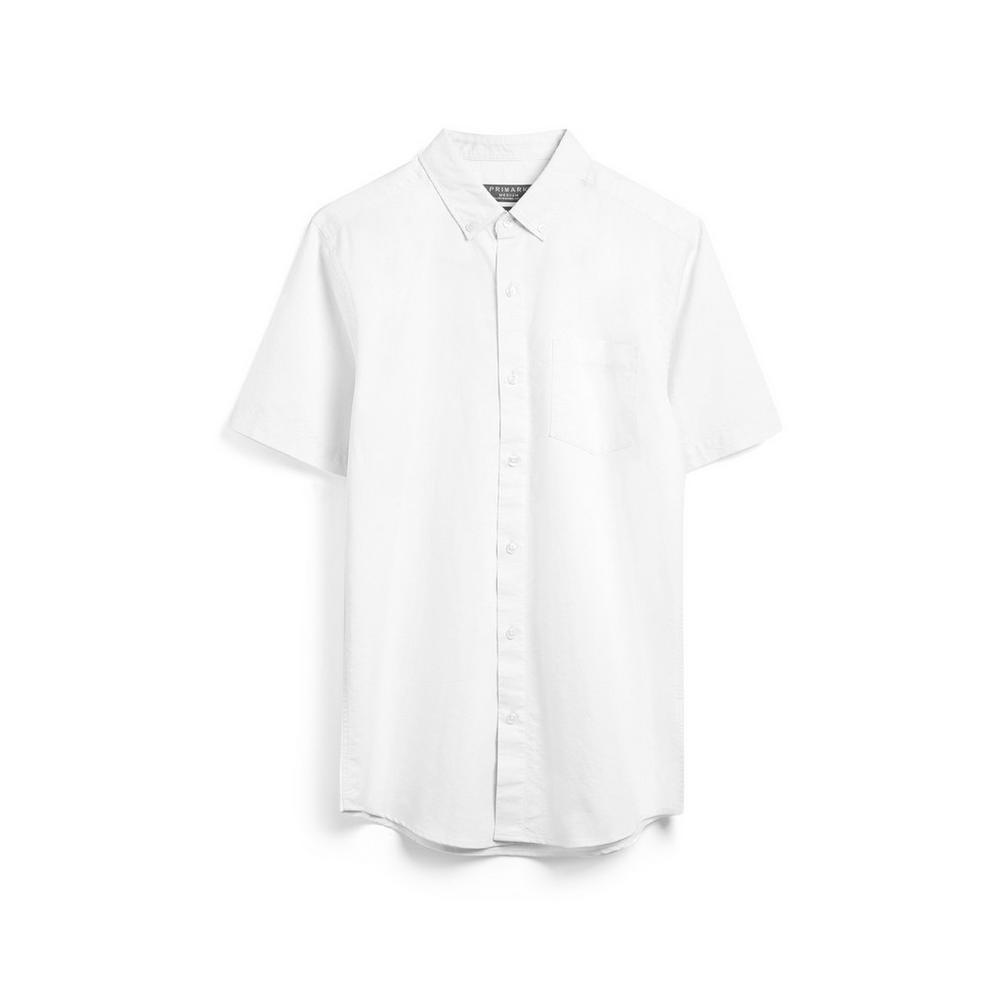online retailer 66a3c 45d7b Kurzärmliges Hemd in Weiß | Kurze Ärmel | Hemden | Herren ...