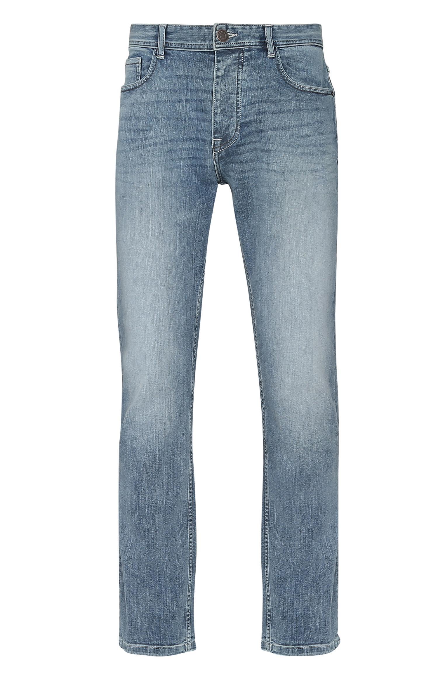 Ausgebleichte Jeans in Hellblau