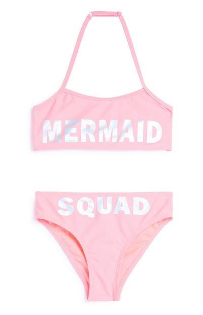 Older Girl Mermaid Bikini