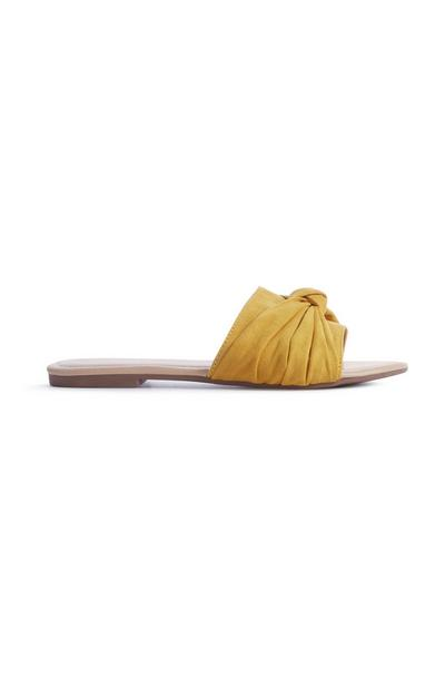 Yellow Bow Knot Mule