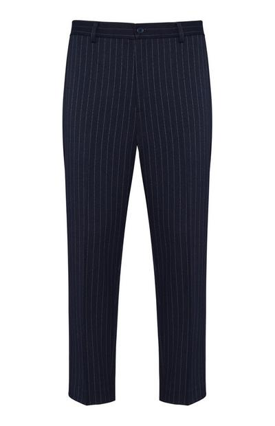 Navy Stripe Trouser