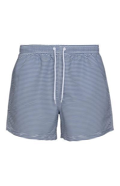 Stripe Swim Shorts