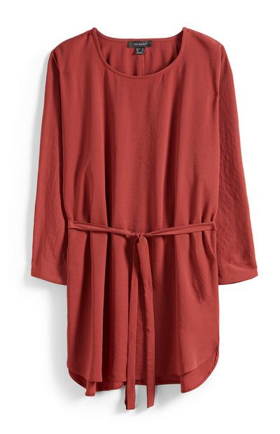Terracotta Belted Tunic