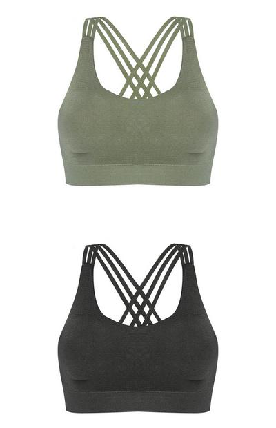 Workout Bra 2Pk