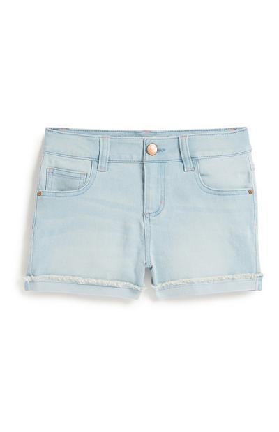 Light Blue Shorts