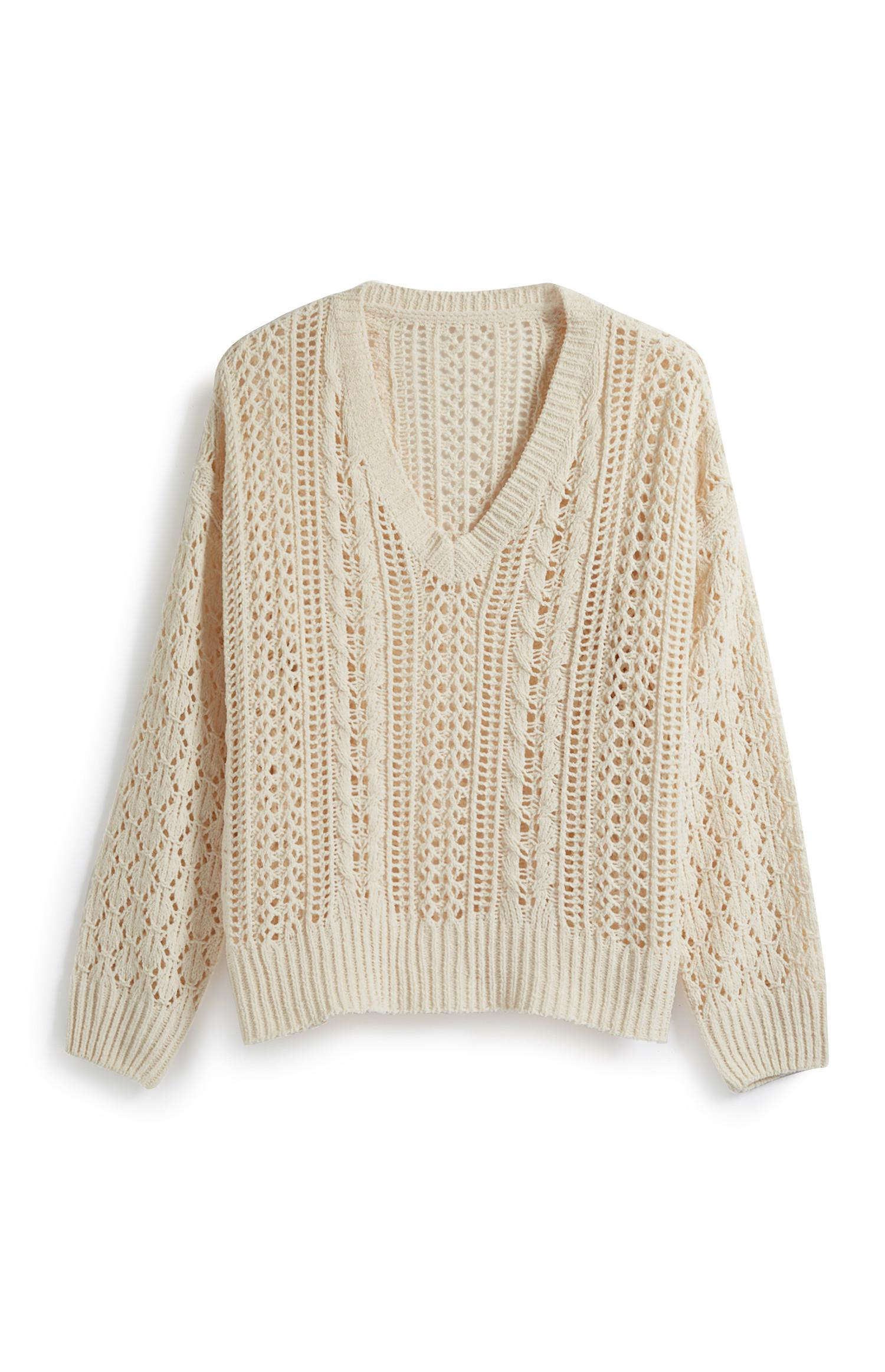 Ivory Chenille Jumper