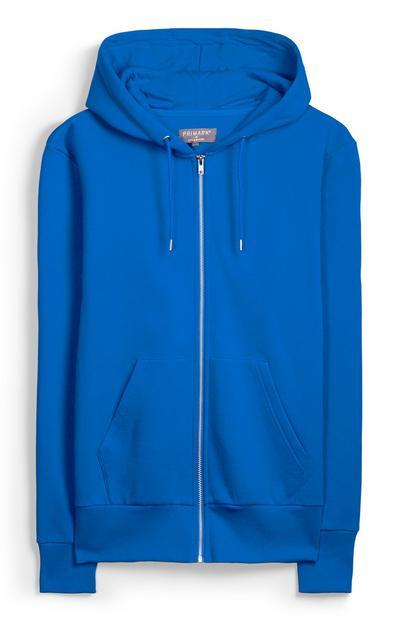 Blue Zip Hoody