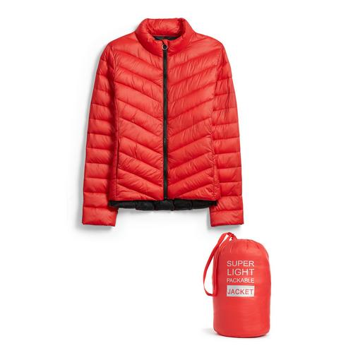 Jacken SteppjackeMäntel Rote Kleidung Damenmode kiuPXlwZOT