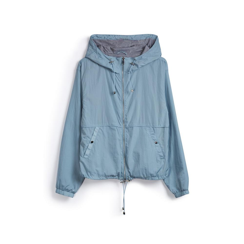 b172d627 Jersey Lined Hooded Jacket | Raincoats | Coats jackets | Womens ...