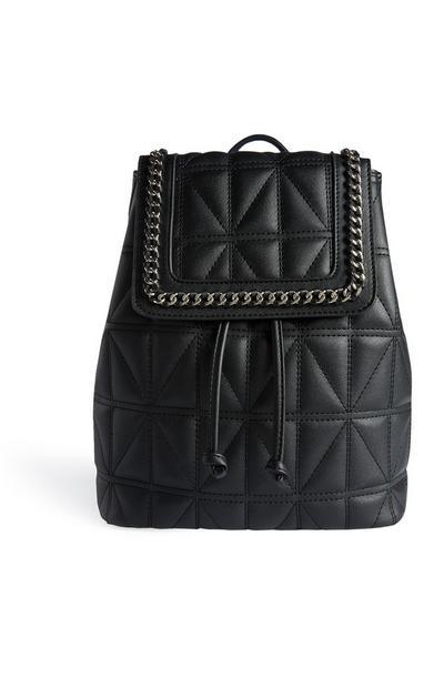Black Chain Backpack