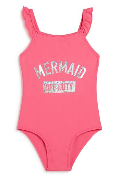 Younger Girl Mermaid Swimsuit