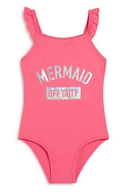 Younger Girl Mermaid Swimsuit