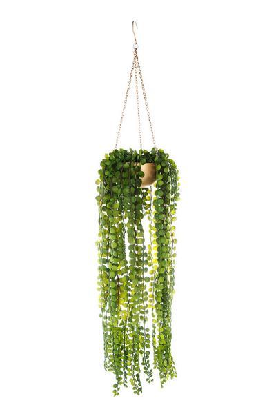 Hanging Faux Plant