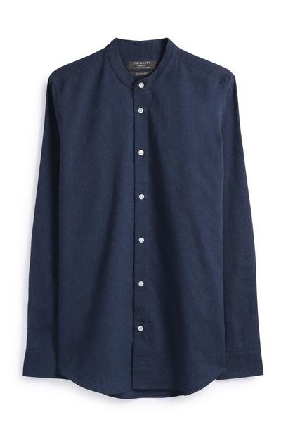Long Sleeve Navy Shirt