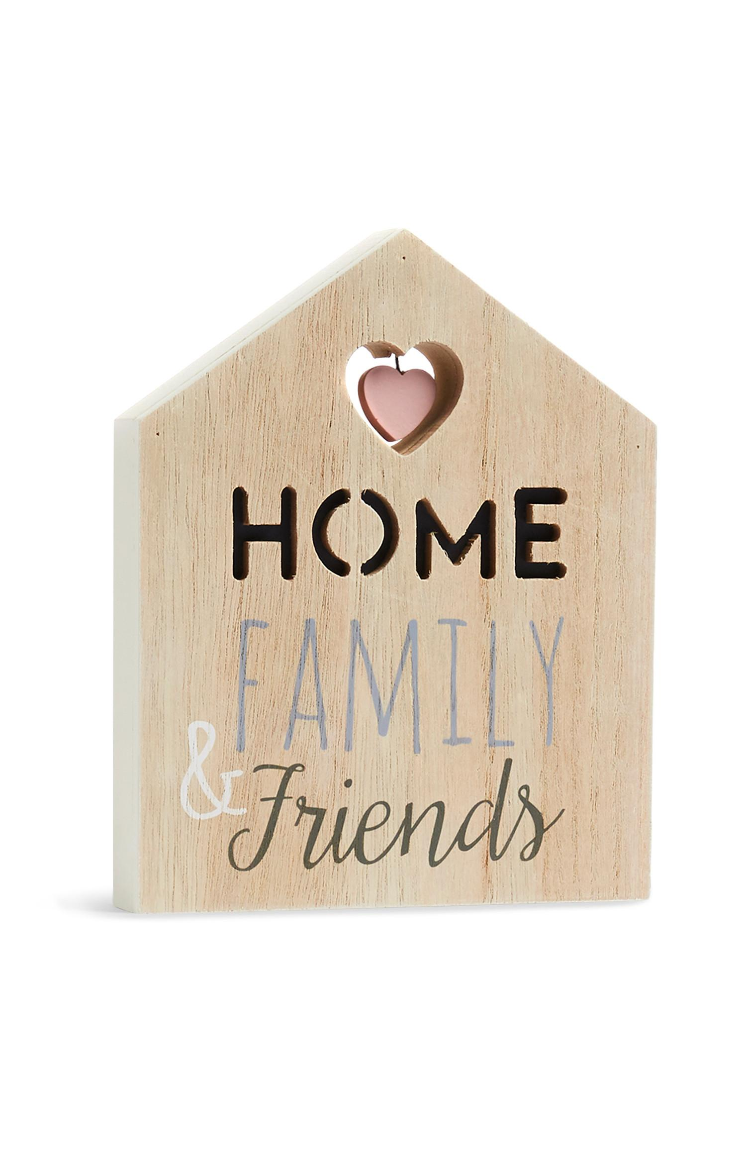 Home Family And Friends Sign