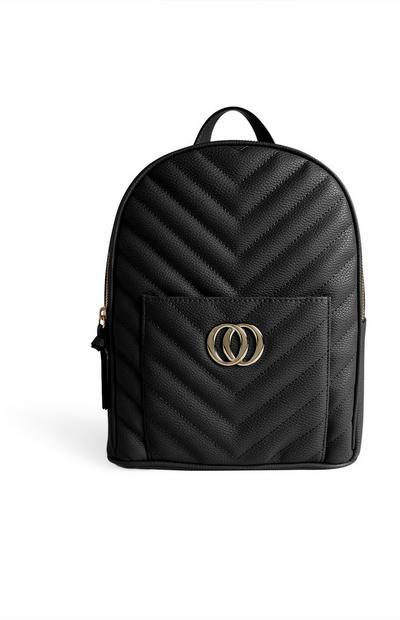 Black Infinity Backpack