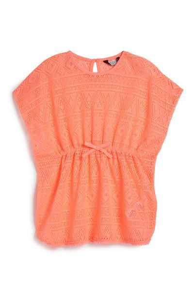 Younger Girl Crochet Kaftan