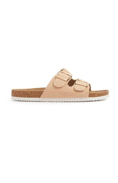 Nude Strappy Sandal