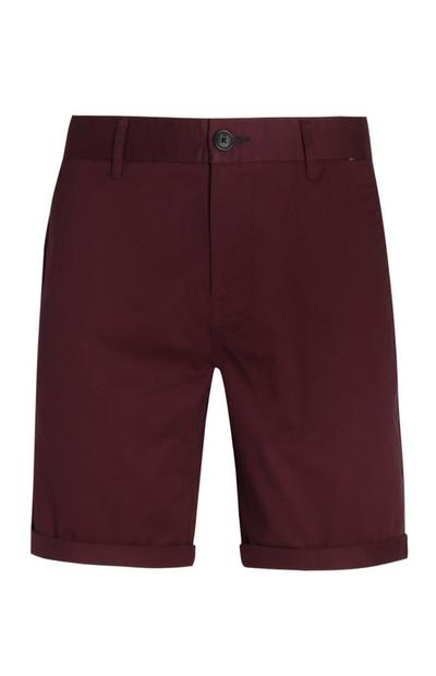 Red Chino Shorts