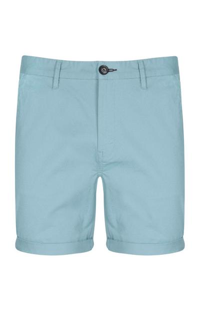 Sky Blue Chino Short