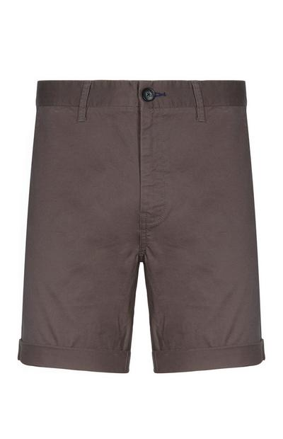 Grey Chino Short