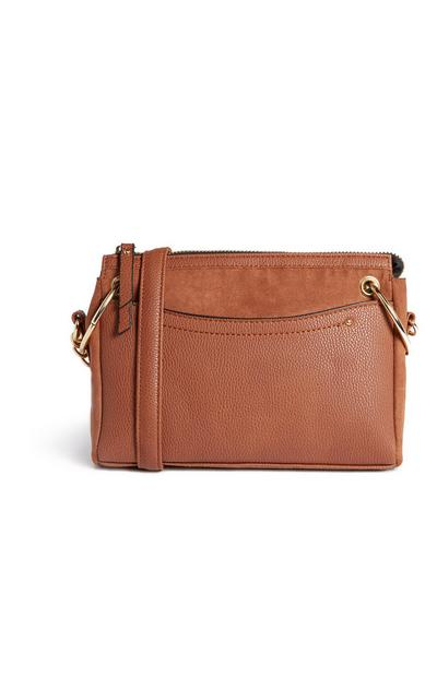 Tan Crossbody Bag