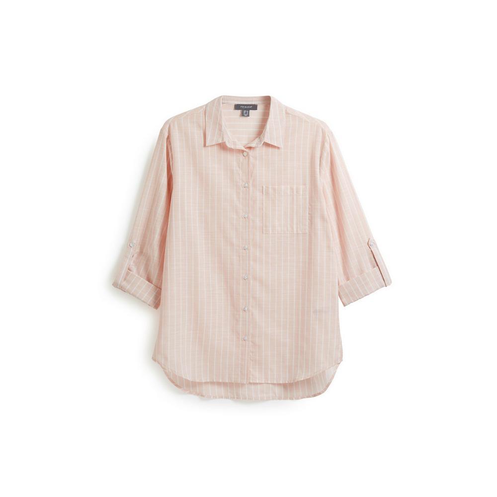 de style élégant emballage fort mieux Chemise décontractée à rayures   Chemises   Hauts   Mode ...