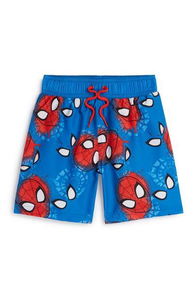Younger Boy Spidermam Swim Short