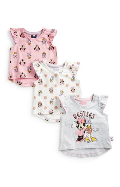 Baby Girl 3Pk Minnie Mouse Top 3Pk