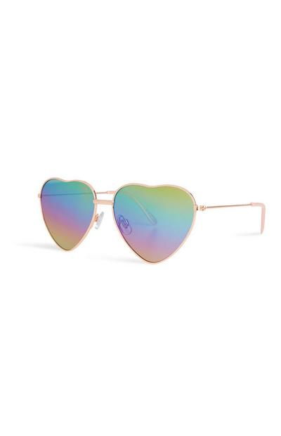 Heart Ombre Sunglasses