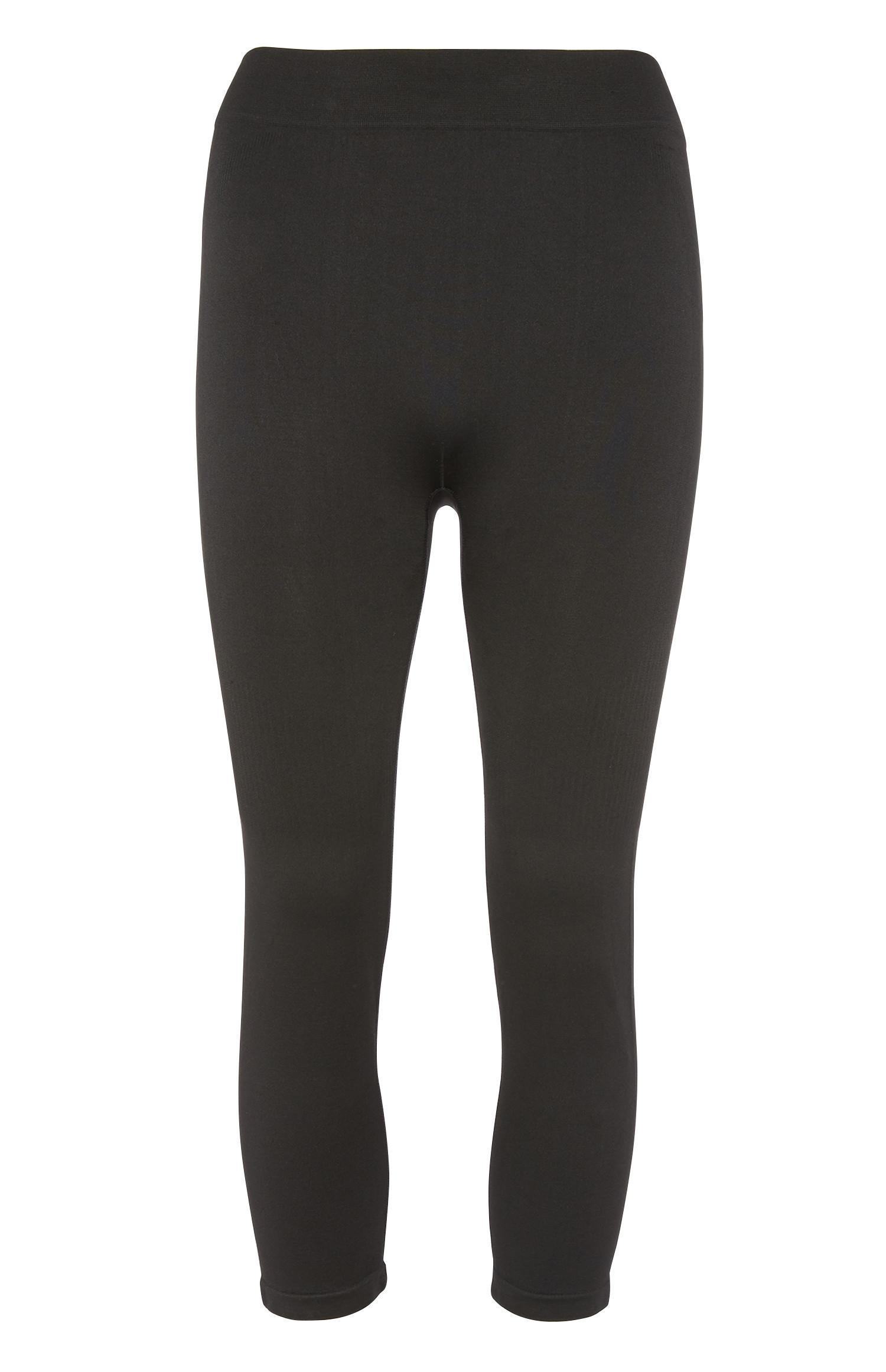 Black Crop Sport Legging