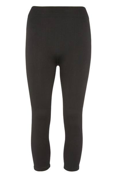 Black Crop Sport Legging