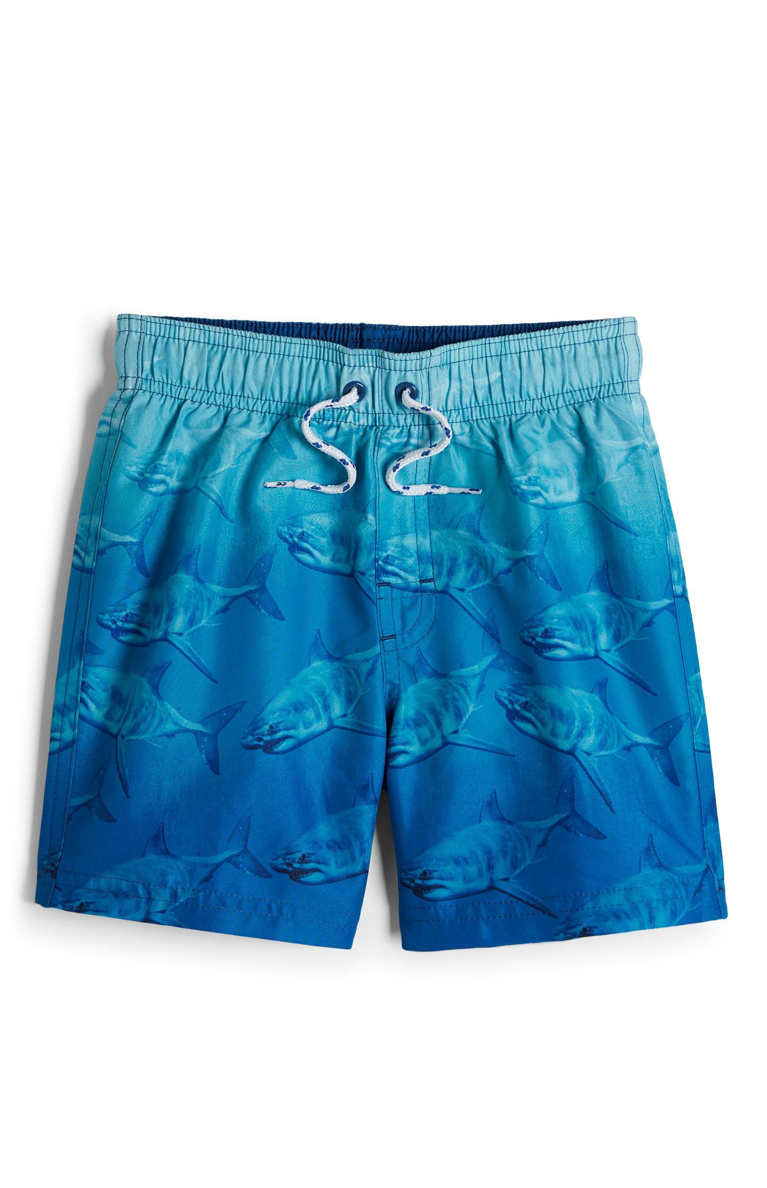 Boys Shark Swim Shorts