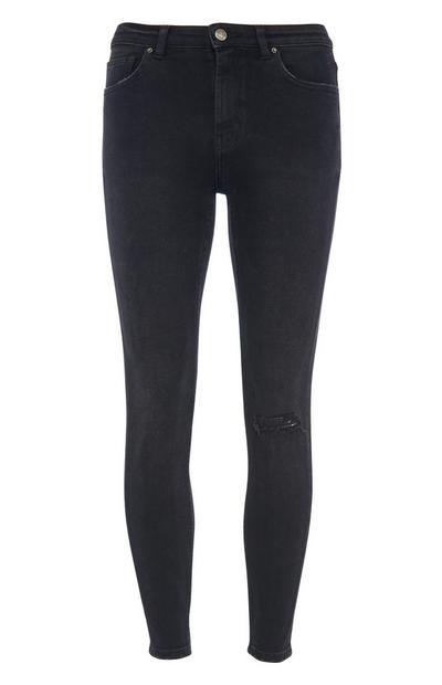 Black Vintage Skinny Jean