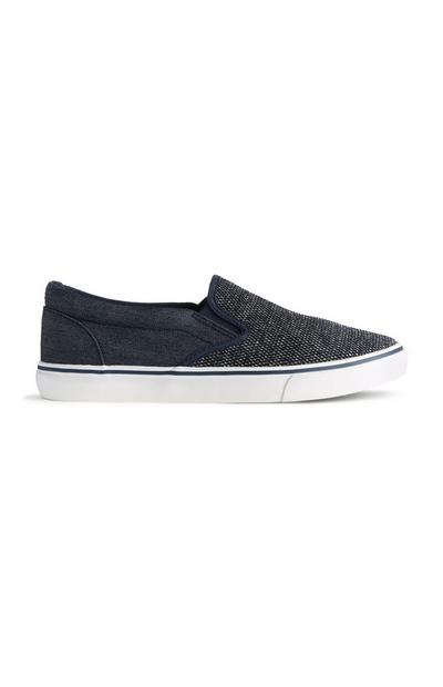 Textured Slip On Shoe