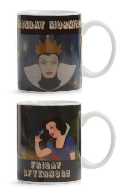 Disney Princess Mugs 2Pk