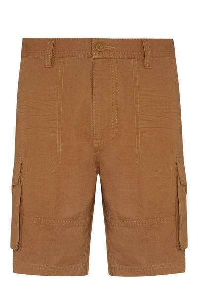 Brown Cargo Shorts