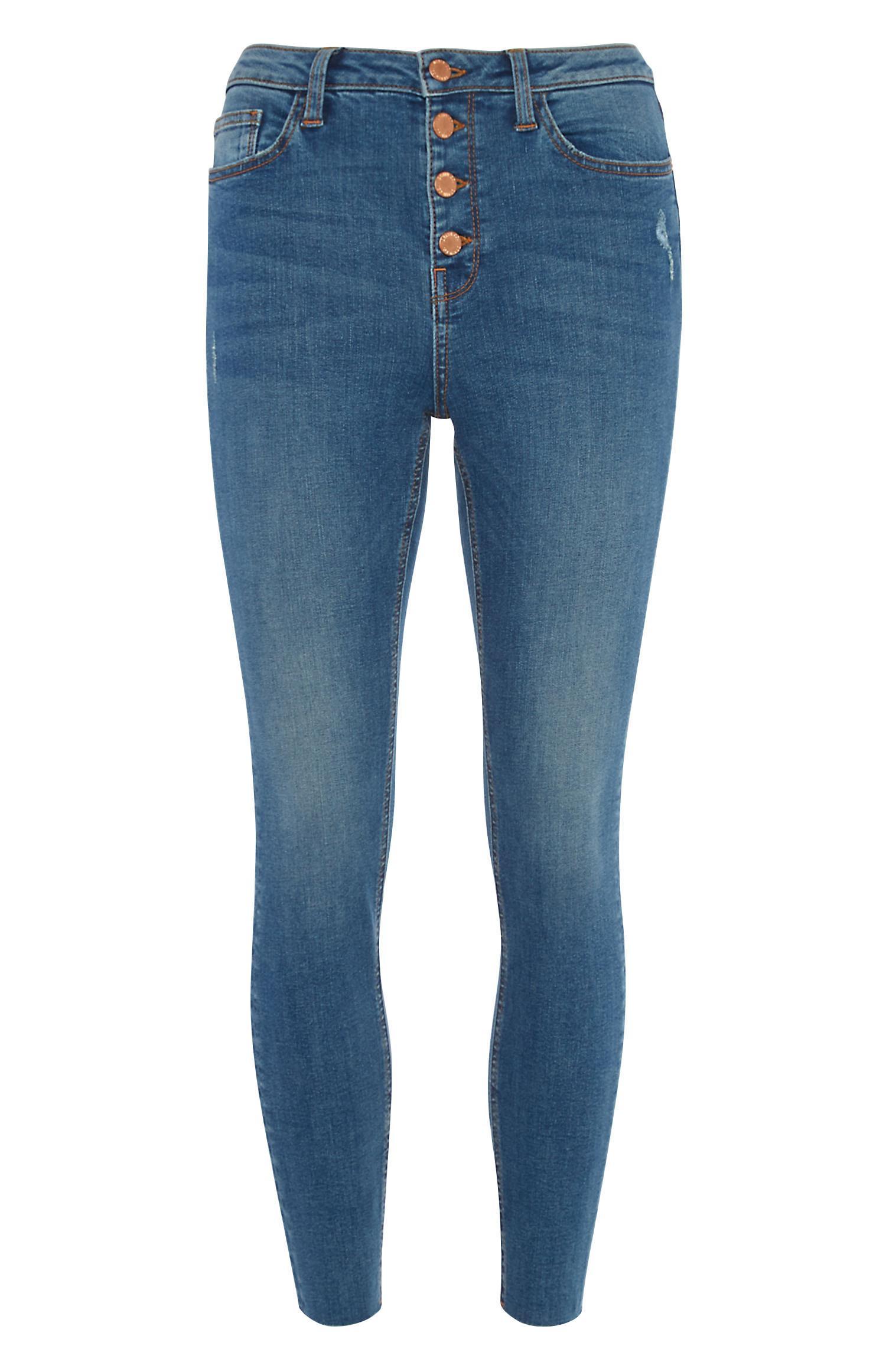 Raw Hem Skinny Jean