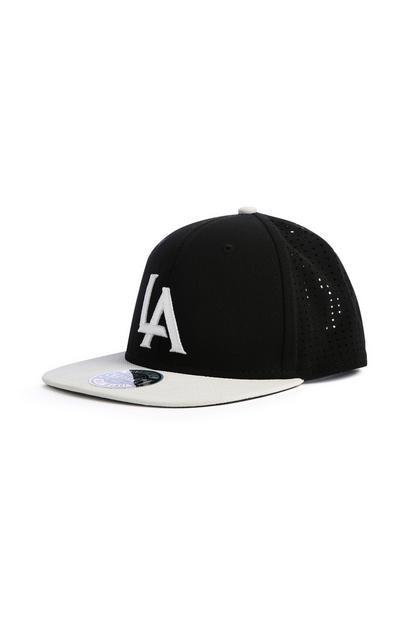 Black LA Cap