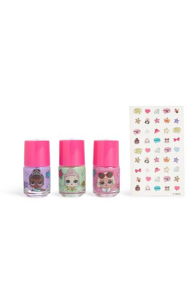 Lol Dolls Surprise Nail Kit Bag
